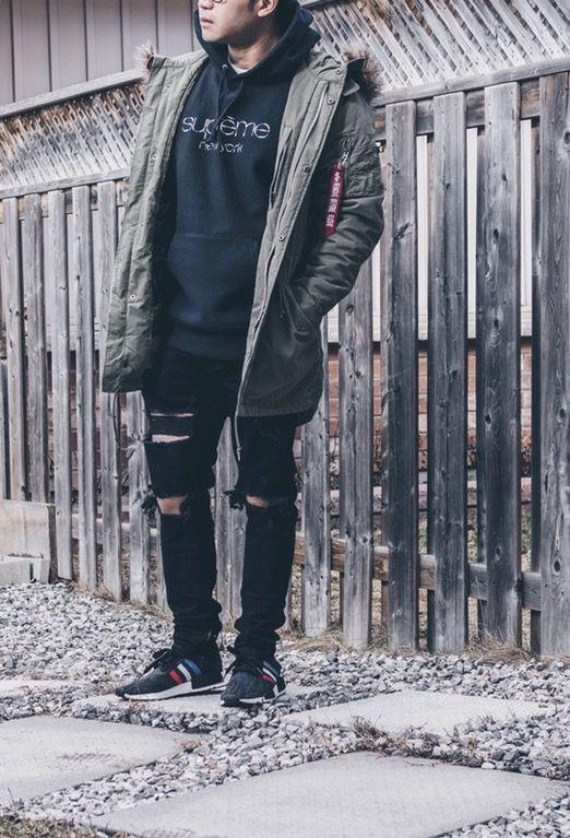 [WDYWT] Alpha Industries/Supreme/Hyper Denim/Adidas : streetwear