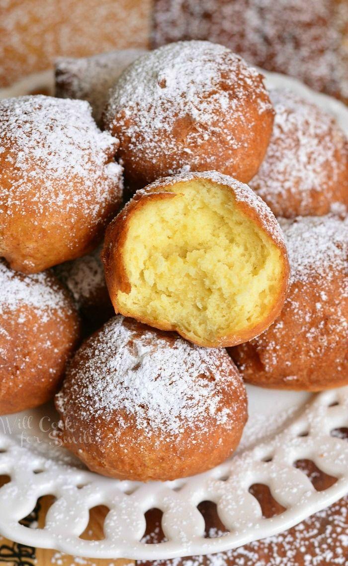 Easy Ricotta Doughnuts   from willcookforsmiles.com