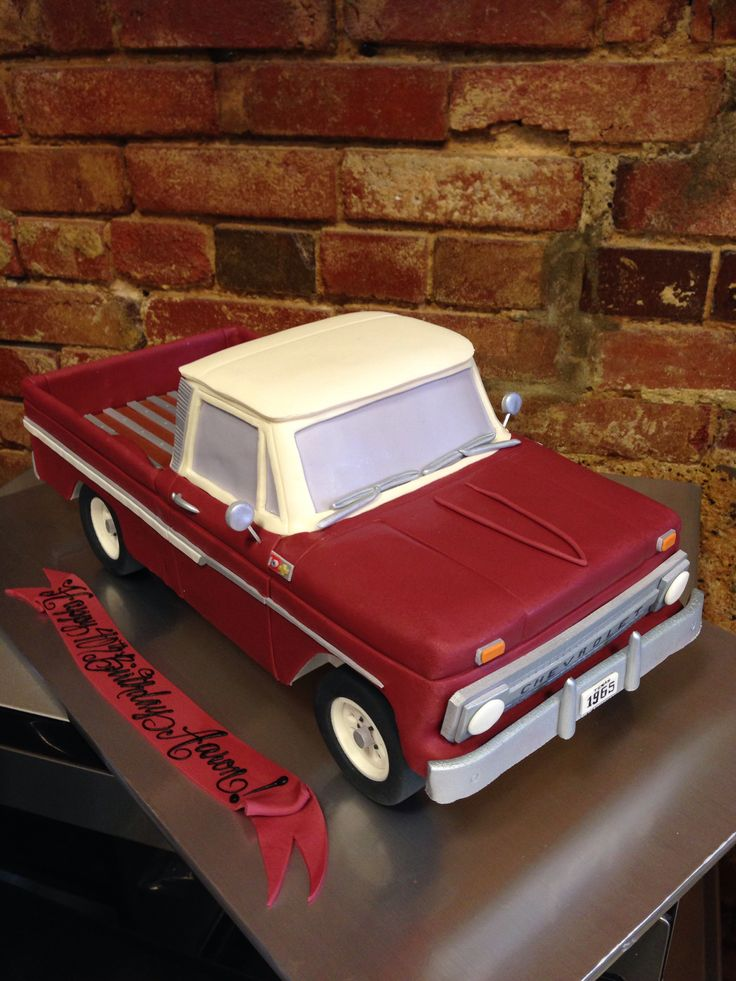 1965 Chevrolet Truck Cake Cakes By Say It With Sugar