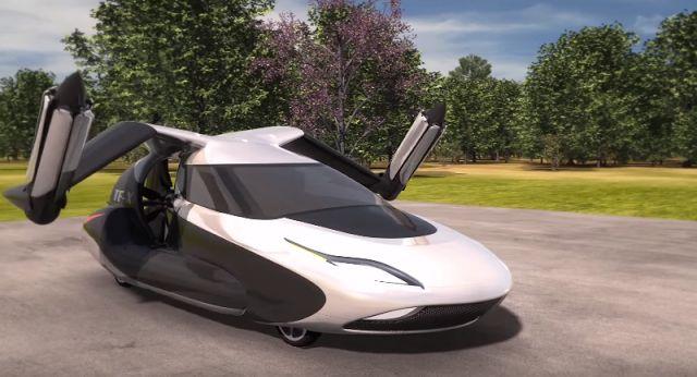 TF-X от компании Terrafugia весит 816,5 килограмма. Минимальная скорость, с которой автомобиль-ко...