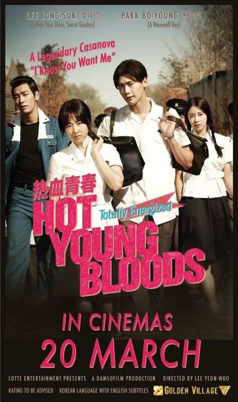 Hot Young Bloods - this movie was silly, made me lol, and made me cry. Decent, but not for the faint of heart. Not rated G lol.