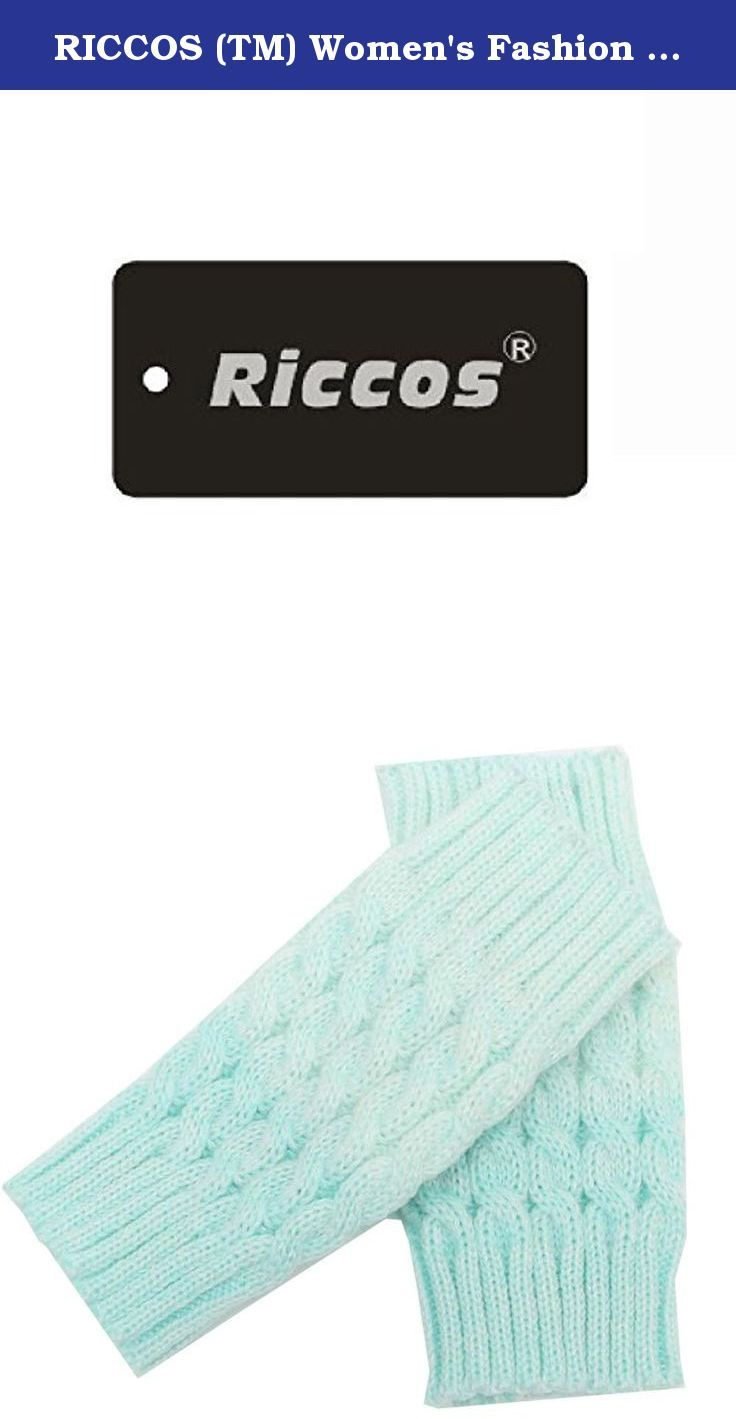 RICCOS (TM) Women's Fashion Winter Crochet Kintted Warm Gradient Colouring Boot Cuffs Toppers Short Leg Sockings (Blue). It is very warm and the design is keep up with the fashion. RICCOS knitted and Multi Colors leggings for a fun and fashionable effect.