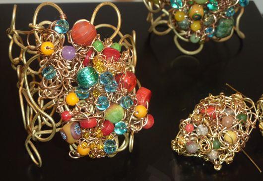 L'atelier bijoux e accessori ad Abilmente Primavera: Alessandra Fabre Repetto, Alessandra Muraro, Daniela Cerri,