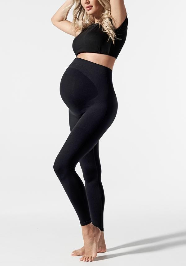 e490c2a6e3266 Blurring the lines between fashion and practicality and the first of its  kind, our maternity leggings with patented, built-in, seam-free support to  smooth ...