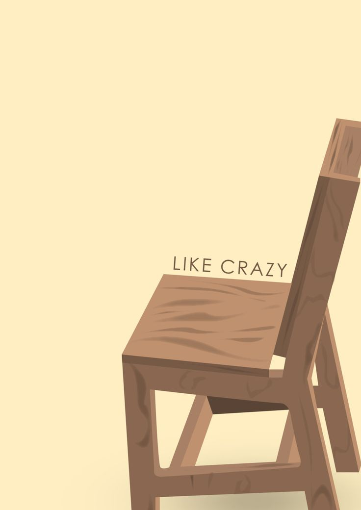 Like Crazy (2011) ~ Minimal Movie Poster by Yzabelle Wuthrich #amusementphile