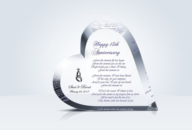 82 Best Wedding Anniversary Gifts Images On Pinterest