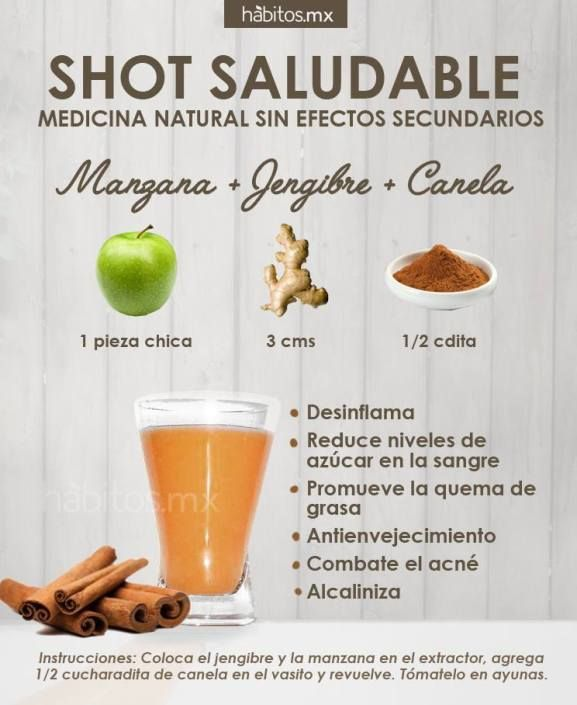 ⚜ Bebidas saludables... SHOT SALUDABLE!