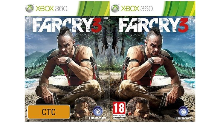 See, Video Game Covers In The UK Are Like This And In Australia ...