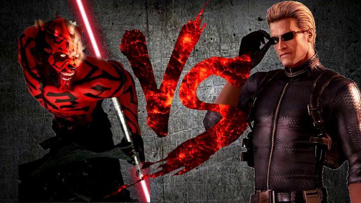 ДАРТ МОЛ против ВЕСКЕРА | DARTH MAUL vs WESKER [CT Fight Club | Star War...