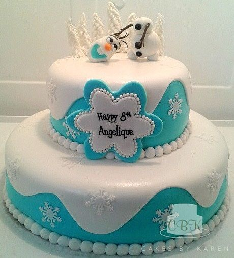Vanilla Cake Decor : Made this cake for a sweet little girl in my daughters ...
