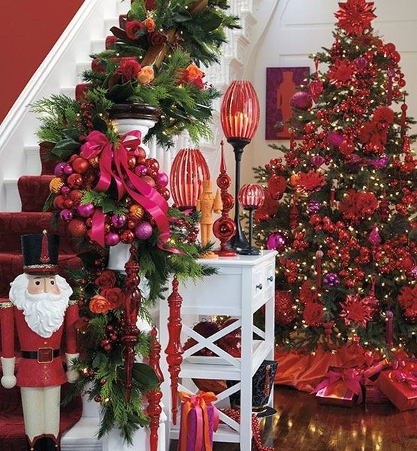 Possible Theme For My Main Tree Fits With The Saree Fabric And Colours In Conservatory Find This Pin More On Xmas Decoration Ideas 2015 2016
