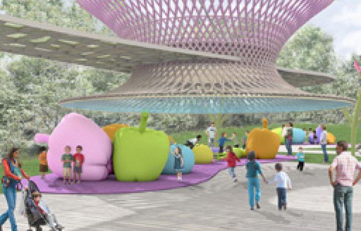 Expo 2015 - Children Park - mega frutti