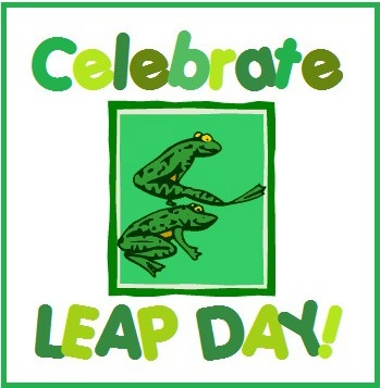 Links to Leap Day and Frog themed games, crafts, foods, and more!
