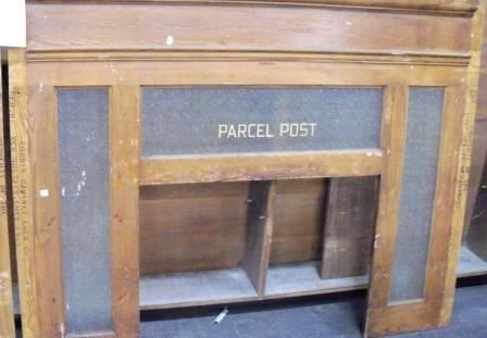I would like a Parcel Post window in my house, please. kthxbye.Post Windows, Industrial Farmhouse, Second Chances, Philepistolist United, Stores Items, Parcel Post