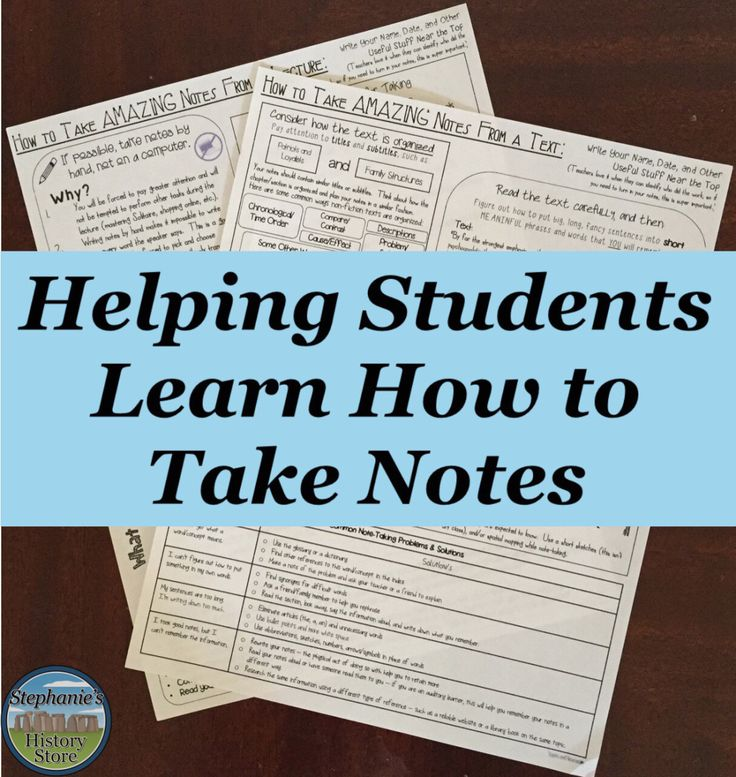 How to Take Good Notes From a Book