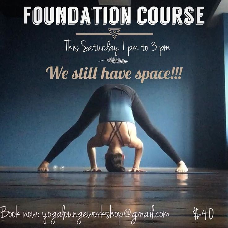 We still have space  come and join us to our Foundation course this coming Saturday! Bookings: yogaloungeworkshop@gmail.com. See you soon on the mat . . . . #workshop #foundation #yoga #theyogalounge #hotyoga #learn #grow #alignments #focus #basics #wellingtonyoga
