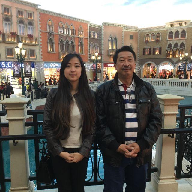 "The Venetian Macau Resort 威尼斯人度假村 in 氹仔 ""Like father like daughter"""