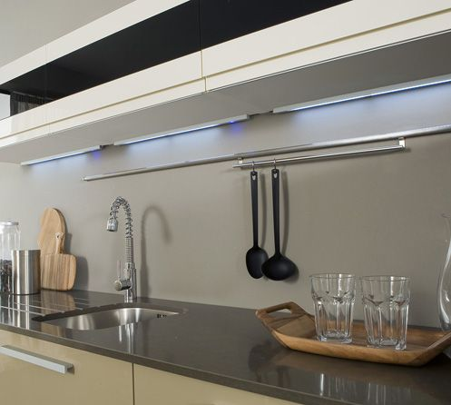 115 best images about iluminaci n en la cocina on - Iluminacion led cocina downlight ...