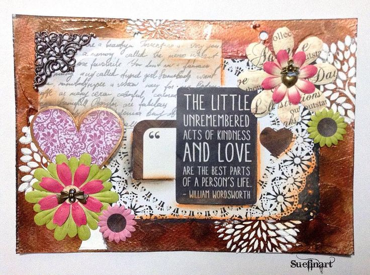 Another page from My Inspiration Art Journal