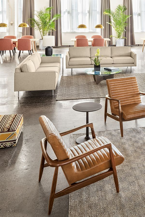 best living room chair%0A Lounge in style with our Callan leather chair