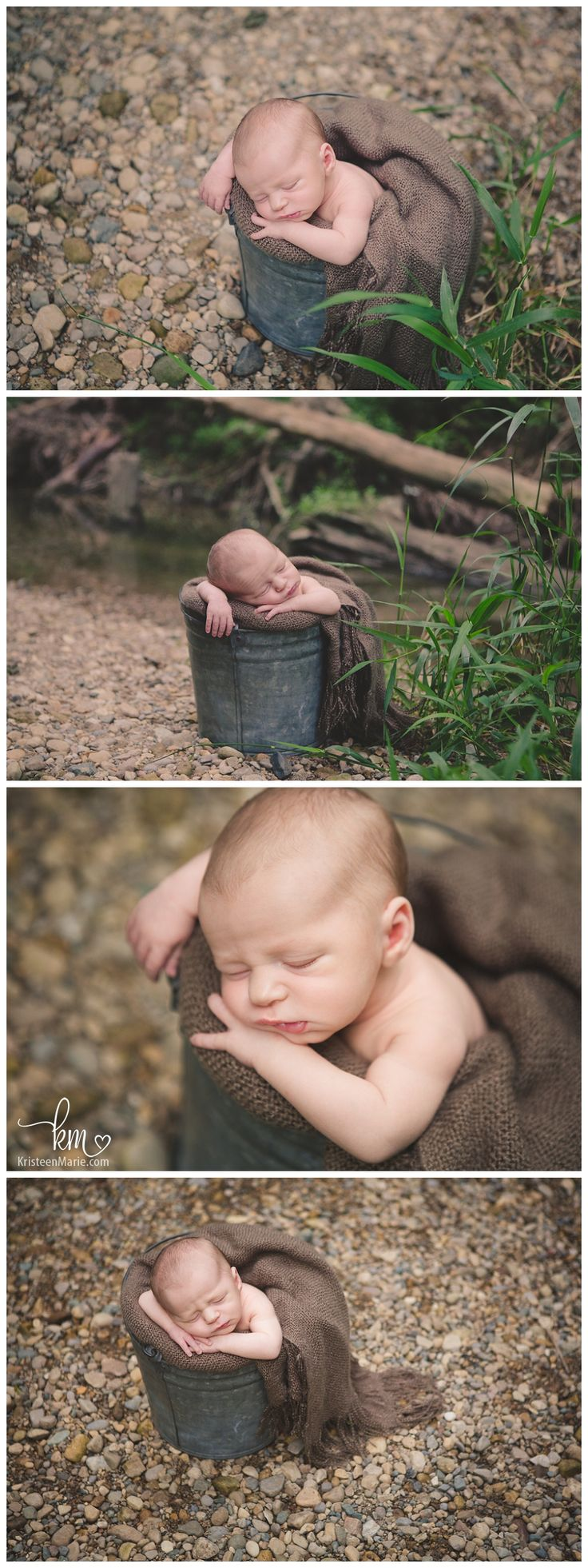 Outdoor Newborn Photography in Indianapolis