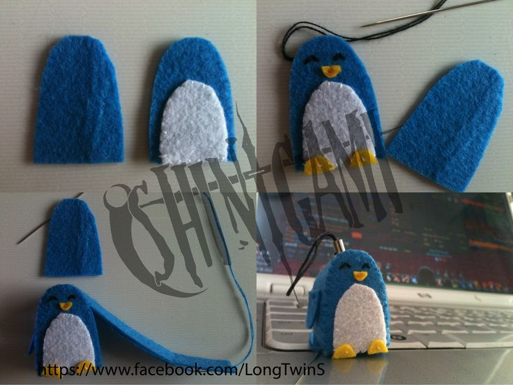 Penguin - Handmade by BotChocolate