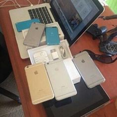 Direct message me I negotiate. Everything comes new and sealed. We offer 30 day returns money back guaranteed Free shipping 2-3 business days I have next day shipping available for an additional $10.Tracking number is provided after all orders! for security reasons. Apple watch $350 iPhone 6  $250 iPhone 6   $200 iPhone 5S  $130 IPhone 5c   $110 iPad 4   $200 MacBook Pro 15 inch 2.5 with retina 512gb   $1100 MacBook Pro 13 inch 2.6 with retina 256gb $1000 MacBook Air   $300 Xbox One Without…