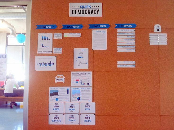 Democracy meets Employee  Suggestions