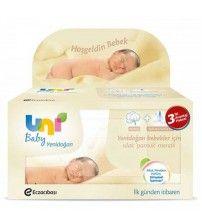 Uni Baby Yeni Doğan Bebekler İçin Islak Mendil (3 Adet)