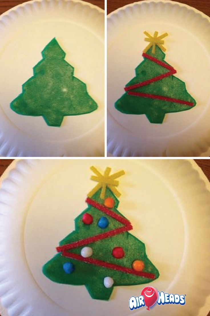 This fun and festive edible holiday craft
