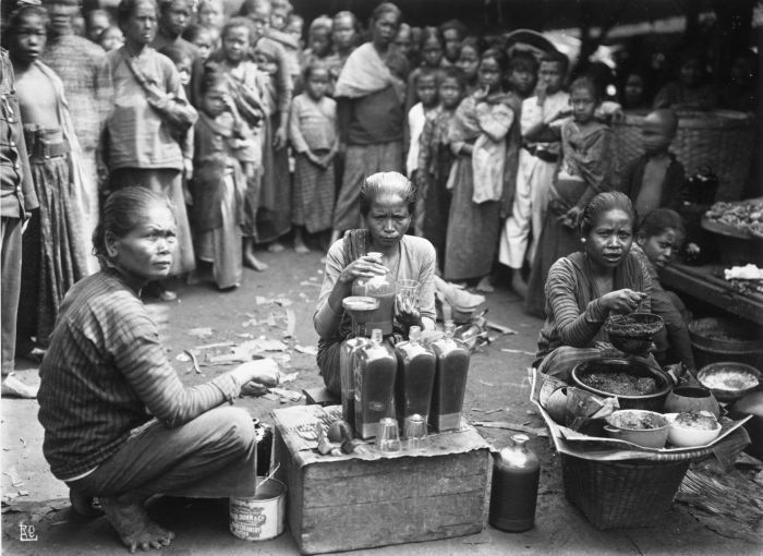 Jamu is traditional medicine in Indonesia. It is predominantly herbal medicine made from natural materials, such as parts of plants such as roots, leaves and bark, and fruit.
