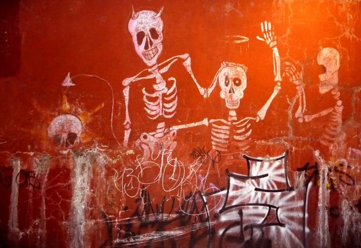 Graffiti in Guanajuato, Mexico
