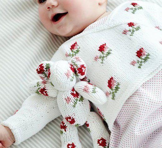 Кофта спицами для новорожденной девочки