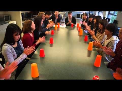 Cups (When I'm gone) Cover - inlingua Vancouver students - YouTube