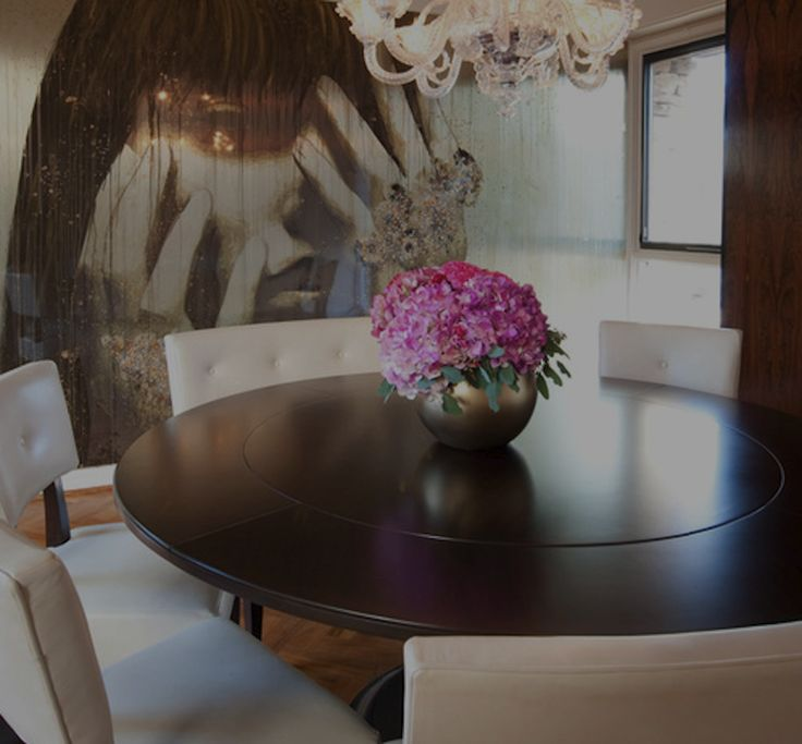 63 best modern dining table decorations images on for Contemporary table centerpiece ideas
