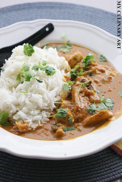 My Culinary Art: Łatwy kurczak po indyjsku