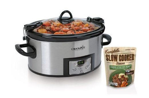 #Giveaway: Enter To #Win Crock Pot & Campbell's Slow Cooker Sauces