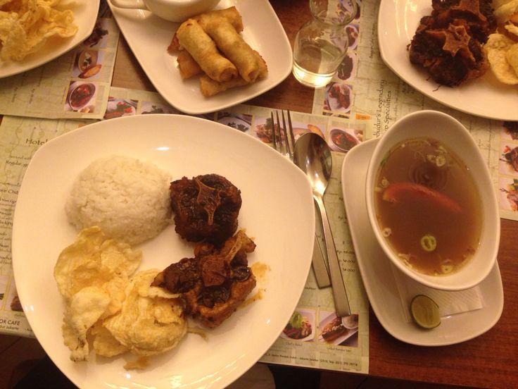 President's fav (oxtail soup by Bogor Cafe)