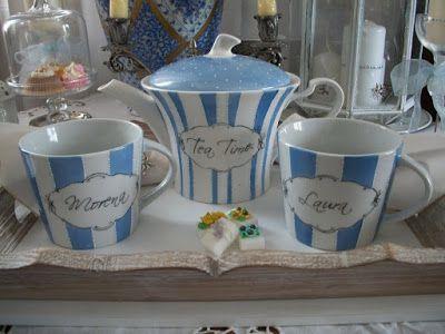 Le porcellane di Morena: Servizio da tè