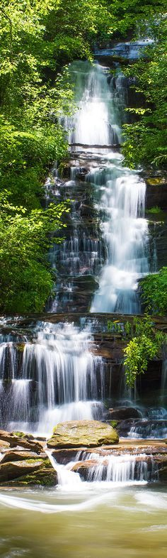 The Great Smoky Mountains National Park is full of beautiful streams and majestic waterfalls.
