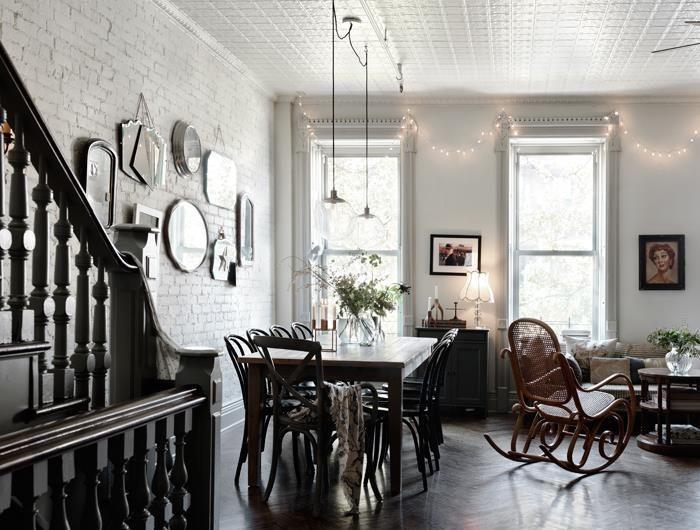 Hemma hos Nina Persson i New York, Elle Decoration Sweden. Foto: Petra Bindel