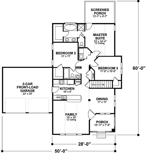 25 best ideas about starter home plans on pinterest for Starter home floor plans