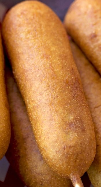 Hand-Dipped Corn Dogs (Disney Copycat