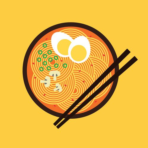Spicy Ramen / Bread & Bubbles Tumblr