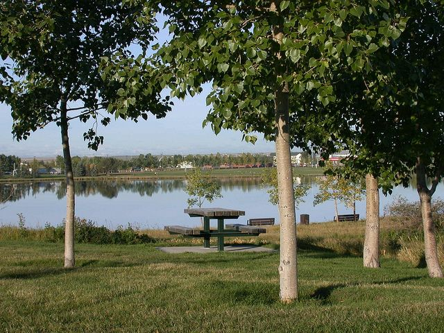 East Lake Park - Airdrie, Alberta www.cooperscrossing.ca #coopersairdrie  #Airdrie #MLI #ESL #LearnEnglish #Canada #AB #Homestay #StudyinCanada