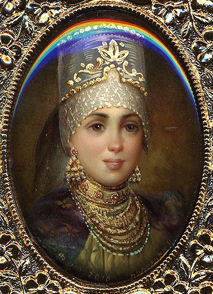 Portrait of Russian Beauty