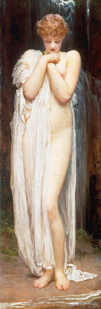 Lord Frederick Leighton - Crenaia (The Nymph of the Dargle)
