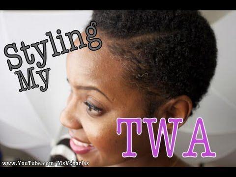 224 How I Wash Amp Style My Twa Beauty And Style
