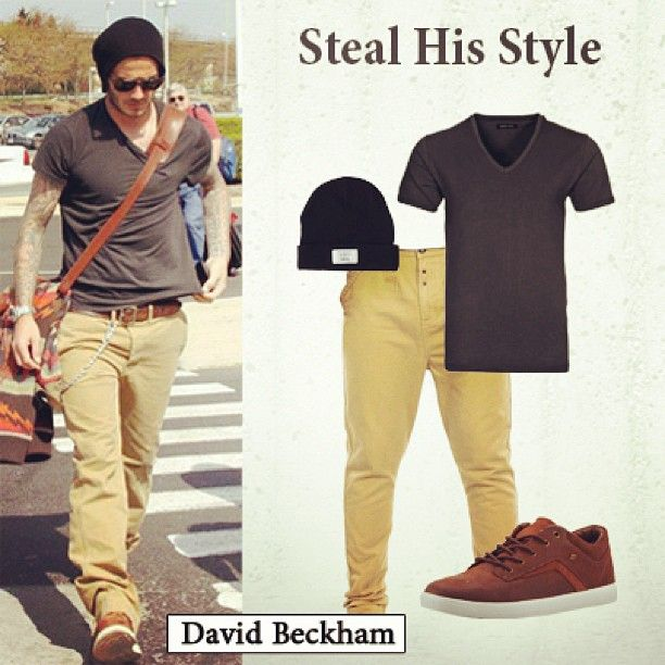 Who wouldn t want to look like David Beckham !  38498a3a765
