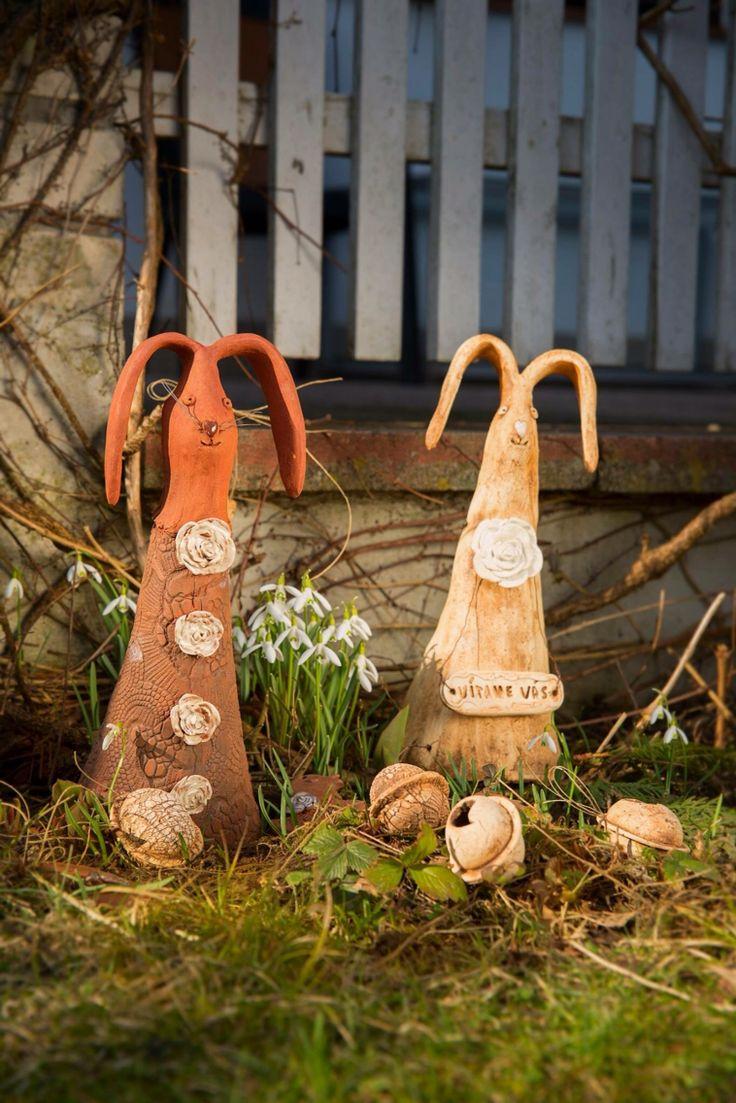 Zajíc -ceramics